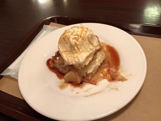 ブルーシール アップルパイとアイス