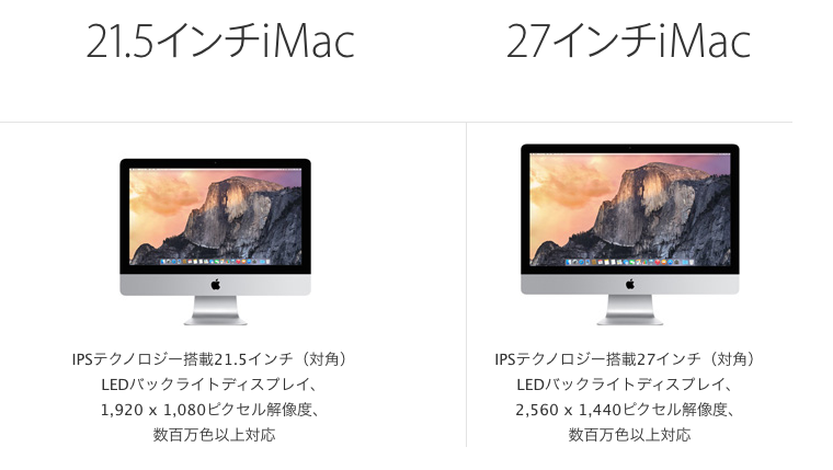 imac display spec