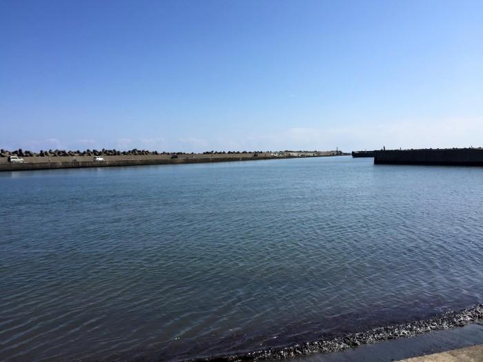 片貝漁港釣り2