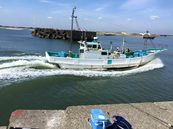 片貝漁港釣り3