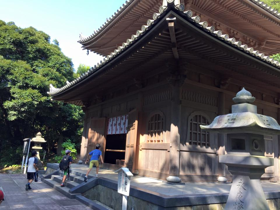 鋸山日本寺14