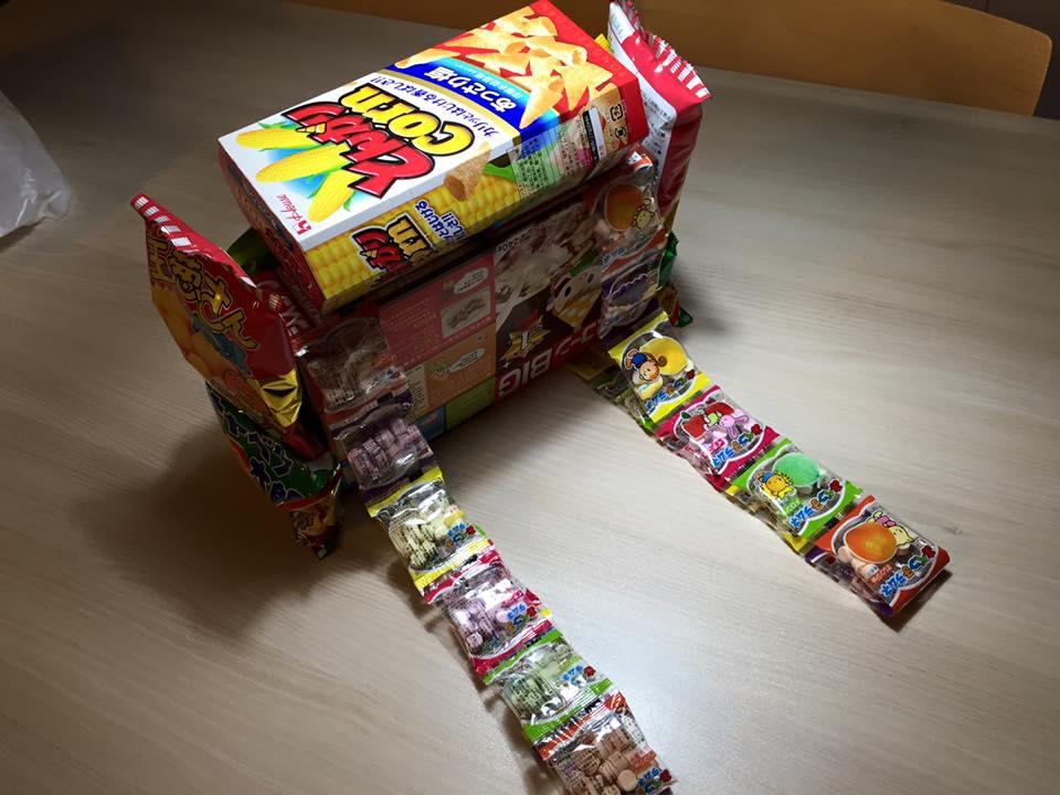 お菓子ランドセル8