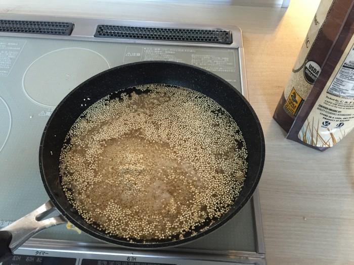 キヌア レシピ