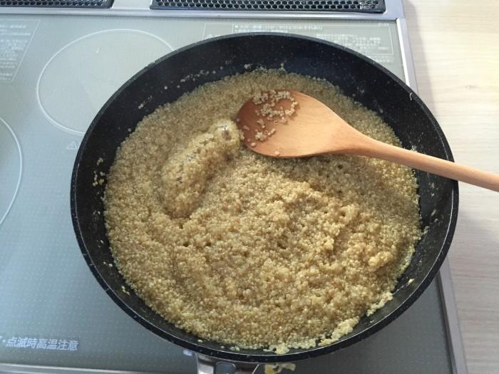 キヌアの炊き方2