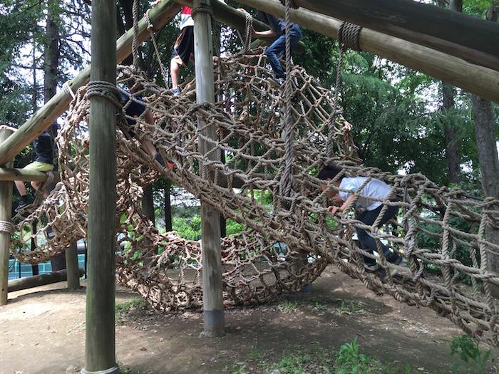 平和の森公園アスレチック9