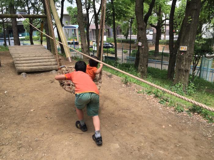 平和の森公園アスレチック10