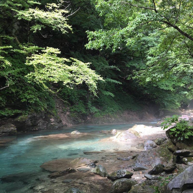 木の俣渓谷と木の俣園地